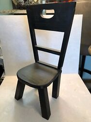 Small Wooden Chair For Dolls/toys/bears 15 High