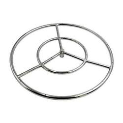 18-inch Round Fire Pit For Natural Gas/propane Fire Pit, 304 18 Burner Ring