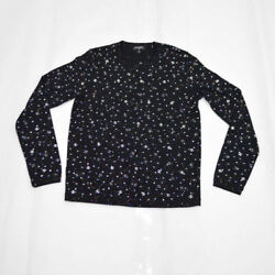 Embroidery Cotton T-shirt Black Coco Mark 20s P64289k60207 0220388547