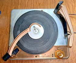 Vintage Silvertone Medalist Turntable Phonograph Record Changer Player