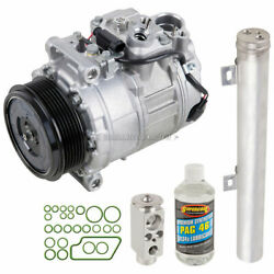 For Mercedes E320 And E500 Oem Ac Compressor W/ A/c Repair Kit Csw