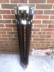Birns And Sawyer Vgm 200 Baby Tripod Wooden Sticks - No Serial Number 542