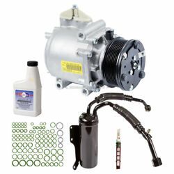 For Ford E-350 Club Wagon Oem Ac Compressor W/ A/c Repair Kit Csw