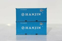 Jtc 205312 N Hanjin 20' Std. Height Containers With Magnetic System 2 Pk