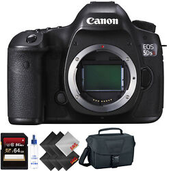 Canon Eos 5ds R Dslr Camera Body Only + 64gb Memory Card + 1 Year Warranty