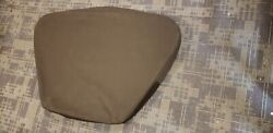 Boston Whaler 420or Bow Table Sun Pad Filler Cushion With Black Canvas Cover