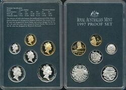 Australia 1997 Proof Set Cat 185 In Ram Packaging Rare Kingsford-smith