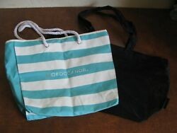 Lot of 2 Beach Totes Vintage Mesh Calvin Klein Rope Handle Cloth Moroccanoil $9.99