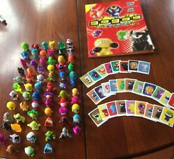 Gogos Crazy Bones Mixed Lot With Stickers And Book