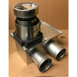 Noritz Vt4-ts-8 8 Stainless Steel Short Direct Vent Terminal 4dia Connection