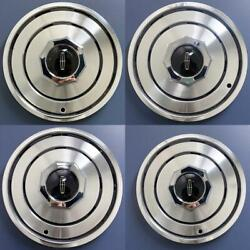 1980-1988 Lincoln Town Car / Mark Vi 15 Wheel Covers Hubcaps E0ly1130c Set/4