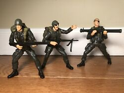 Gti Soldiers Figures And Accessories Lot Of 3