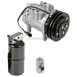 For Dodge Full Size Van 1985-1991 2-groove Ac Compressor W/ A/c Drier And Exp Csw