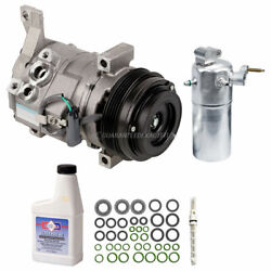 For Chevy Express Van Gas V8 2006 2007 Ac Compressor W/ A/c Repair Kit Csw