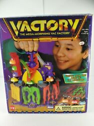 Cap Toys Vacman Vactory 1996 Rare Complete Stretch Armstrong
