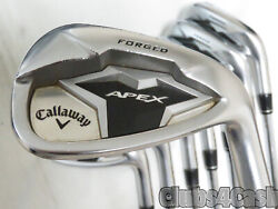 Callaway Apex 19 Irons Forged Project X 5.5 Firm Flex 3-p