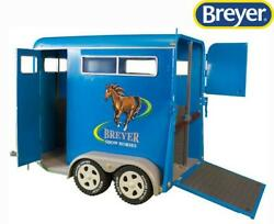 New Breyer Traditional Series Two-horse Trailer 19 Scale - 2617