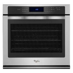 Wos97es0es-whirlpool 30 Single Wall Oven Stainless In Box