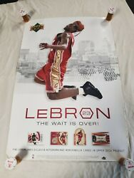 2003 Upper Deck Ad Poster 24x36 - Lebron James Cleveland Cavaliers