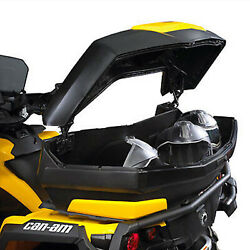 Can-am New Oem Atv Linq Rack Trunk And Red Panel, Outlander, 715001747+715001395
