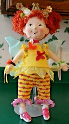 Beautiful Madame Alexander Fancy Nancy Bonjour Butterfly 18 Doll With Label