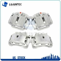 Front + Rear Brake Calipers Pairs For 2003 Chevrolet Silverado 1500 Hd