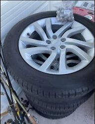 """4 2018 Land Rover Discovery Oem Factory 20"""" Wheels Wheels And Tires"""
