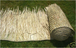 35in X 8ft Tiki Palapa Resort Grade Mexican Palm Grass Thatch Roll
