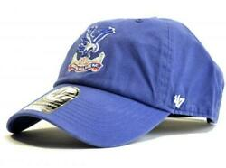 Crystal Palace Fc 47 Clean Up Cap - Authentic Epl