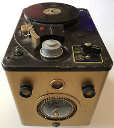 Vintage Telechron Sears Roebuck Co Tube Wire Recorder. U.s.a. Works