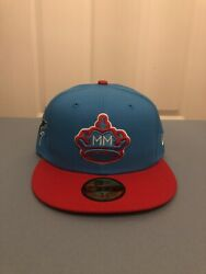 Miami Marlins Sugar Kings City Connect New Era 59fifty 5950 Fitted Cap Hat 7 3/8