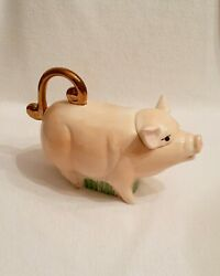 Pig Teapot/creamer - Made In England By Andy Titcomb - Unused Mint Condition