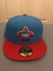 Miami Marlins Sugar Kings City Connect New Era 59fifty 5950 Fitted Cap Hat 7 1/2