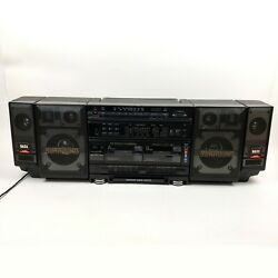 Vintage Tecsonic Jc-97 Ghettoblaster Surround Boom Box 1980s Tested And Working