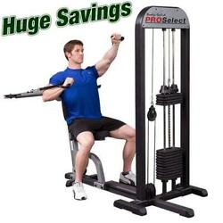 Body-solid Pro Select Multi Press Machine Gmfp-stk Cable Bench Press Pec Fly