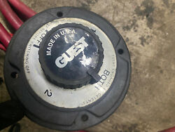 Guest Marine Battery Switch Model 2111 With Cables