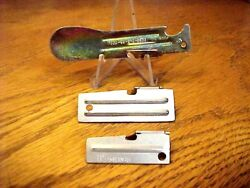 Australian Army Ration Can Opener Fred. One Each P 38 And P 51 Shelby Made Usa