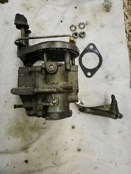 1975 Johnson 25 Outboard Engine Complete Carburetor Assembly Good Condition