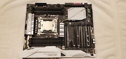 Asus X99-deluxe Ii Atx Mainboard With I/o Shield And Intel Core I7 6800k