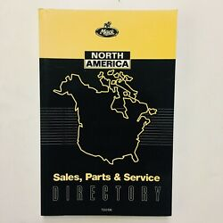Mack Truck North America Sales Parts And Service Directory Ts52496 Vintage 1996