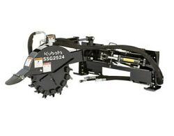 Auger Torque 3300-30 Round Auger Drive With Cement Mixing Bowl Fits Skid Steer