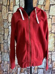 Polo Men's Ralph Red Zip-up Hoodie Size Xl