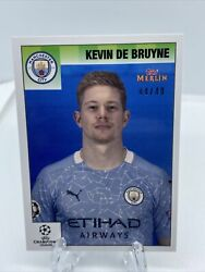 Topps Uefa Champions League Merlin 95 - Kevin De Bruyne Card Manchester City /49