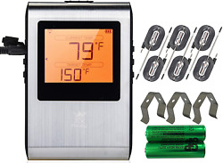 Wireless Meat Thermometer, Smart Bluetooth Digital Cooking, Bbq Grill Smoker Kit