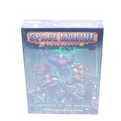 Warhammer 40k Space Marine Adventures Labyrinth Of The Necrons Factory Sealed