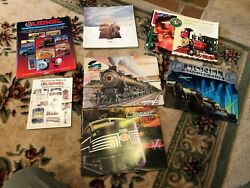 Lot Of 8 Lionel And Mth Catalogs 1993-1997 Great Lot Model Train Toy Accessories