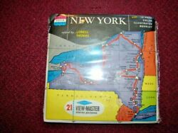 New York State Tour Series Viewmaster Black Label Mint Sealed Reduced 6/3pm