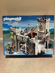 New Playmobil Knights 6002 Castle Playset 2013 Made In Germany Hard To Find Nib