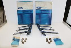 Vintage Left And Right Nos 1966 Ford Mustang Quarter Panel Ornaments Trim Spears
