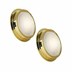 Five Oceans Brass Led Interior Dome Light W/on-off Switch 6 Inches Warm White